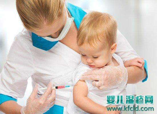 婴儿宝宝有湿疹可以打预防针吗?